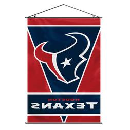 "Houston Texans NFL Football Fabric Wall Scroll Banner 28"" x"