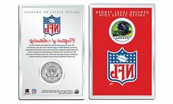 HOUSTON TEXANS NFL Helmet JFK Half Dollar U.S. Coin w/ NFL D