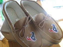 HOUSTON TEXANS Forever Collectibles-NFL-Men's Moccasin Slipp