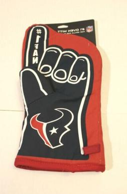Houston Texans NFL Number One Fan Oven Mitt AB3 Red/Blue One