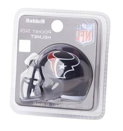 HOUSTON TEXANS NFL Riddell Speed MICRO/POCKET-SIZE/MINI Foot