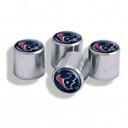 Houston Texans NFL Tire Valve Stem Caps 4-Pack