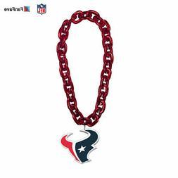 Houston Texans NFL Touchdown Fan Chain 10 Inch 3D Foam Magne