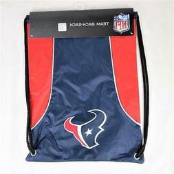 "Houston Texans Officially Licensed NFL Back Sack 18"" x 13"""