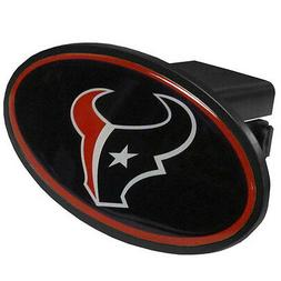 Houston Texans Oval Trailer Hitch Cover  Classic Blue Truck