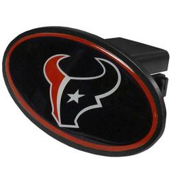 Houston Texans Plastic Oval Trailer Hitch Cover