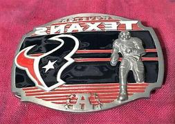 HOUSTON TEXANS PLAYER BELT BUCKLE NFL BUCKLES NEW