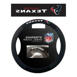 Houston Texans Poly Suede Steering Wheel Cover  NFL Car Truc