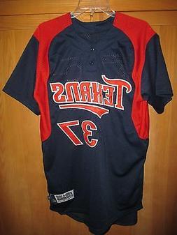 Houston Texans Pro-Line Mesh Baseball Jersey # 37 ~ NWOT