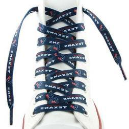 """Houston Texans Shoe Laces 54""""  NFL Lace Sneaker Tennis Gym S"""