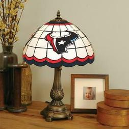 Houston Texans Stained Glass Table Lamp