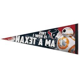 HOUSTON TEXANS STAR WARS BB-8 THIS IS HOW I AM A TEXAN! PENN