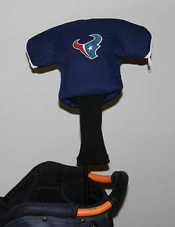 Houston Texans NFL Team Jersey Golf Club Headcover NEW