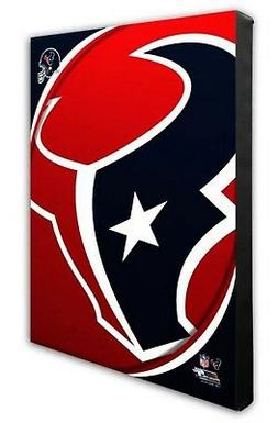 Photo File Houston Texans Team Logo Canvas Print Picture Art