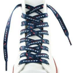 """Houston Texans Team Logo Colors 54"""" Shoe Laces One Pair Lace"""