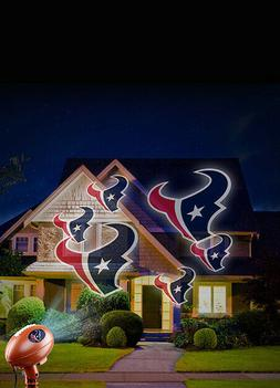 HOUSTON TEXANS TEAM PRIDE LAMP PROJECT TEAM LOGO OUTSIDE OR
