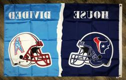 houston texans vs houston oilers house divided