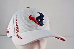 houston texans white baseball cap stretch fitted