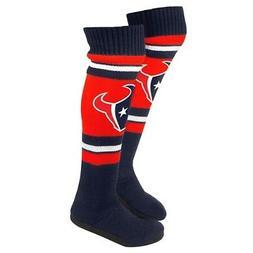 Houston Texans Women's NFL Knit Knee High Slippers