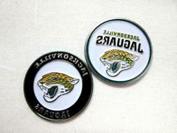 Jacksonville Jaguars Golf Ball Marker Enamel Metal Team Logo
