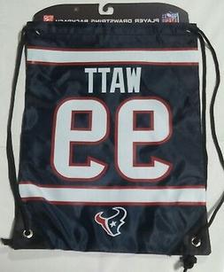 JJ Watt #99 Houston Texans Jersey Back Pack/Sack Drawstring
