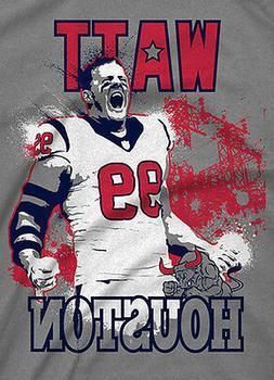 JJ WATT #99 **HOUSTON TEXANS** RARE CUSTOM ARTWORK T-Shirt *