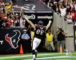 JJ Watt PLAYOFF HERO Houston Texans 2012 NFL Football 16x20