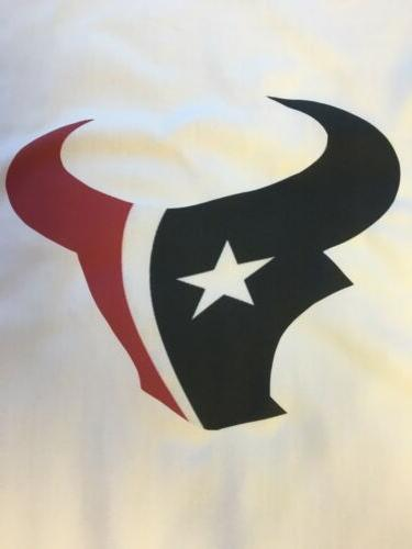 1 houston texans quilt block football logo
