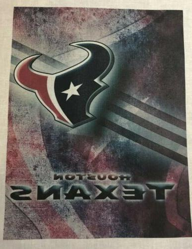 1 houston texans quilt block with color