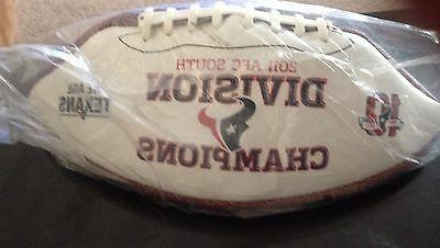 2011 HOUSTON AFC SOUTH DIVISION FOOTBALL NEW IN