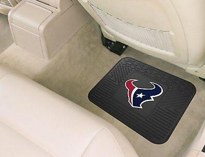 NFL Houston Rear Car Rubber Vinyl Mats