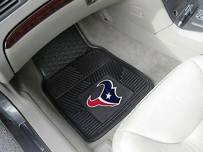 NFL Texans Front Rear Truck Vinyl Floor Mats