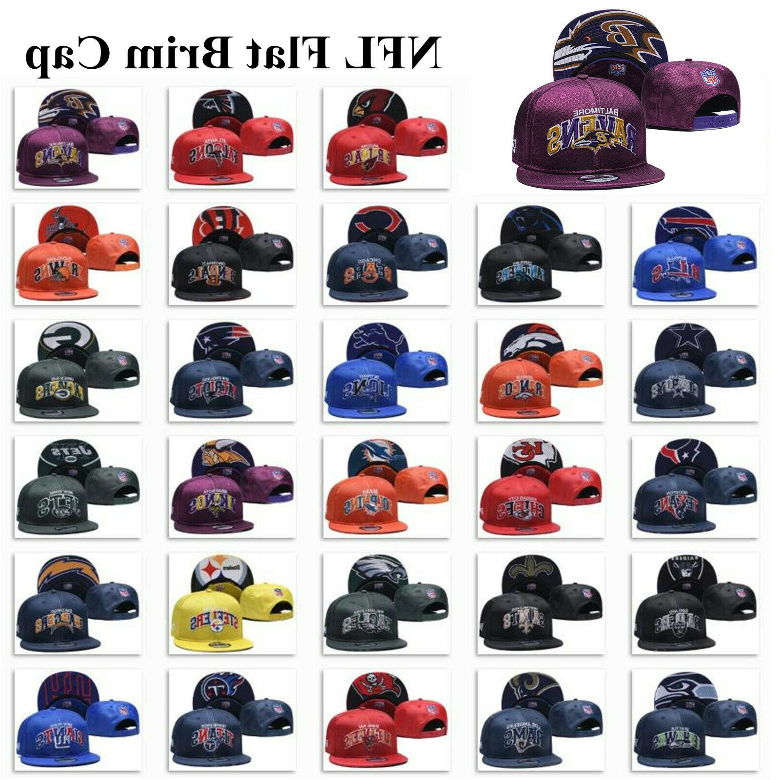 glossy embroidered football teams logo hat sports