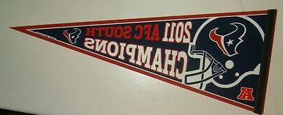 houston texans 2011 south division champions helmet