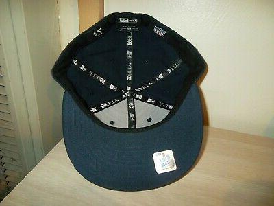 HOUSTON TEXANS CAP/HAT-NEW ERA NAVY BLUE/ON FIELD/NEW!!!