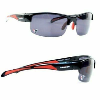 houston texans blade style polarized protective sunglasses