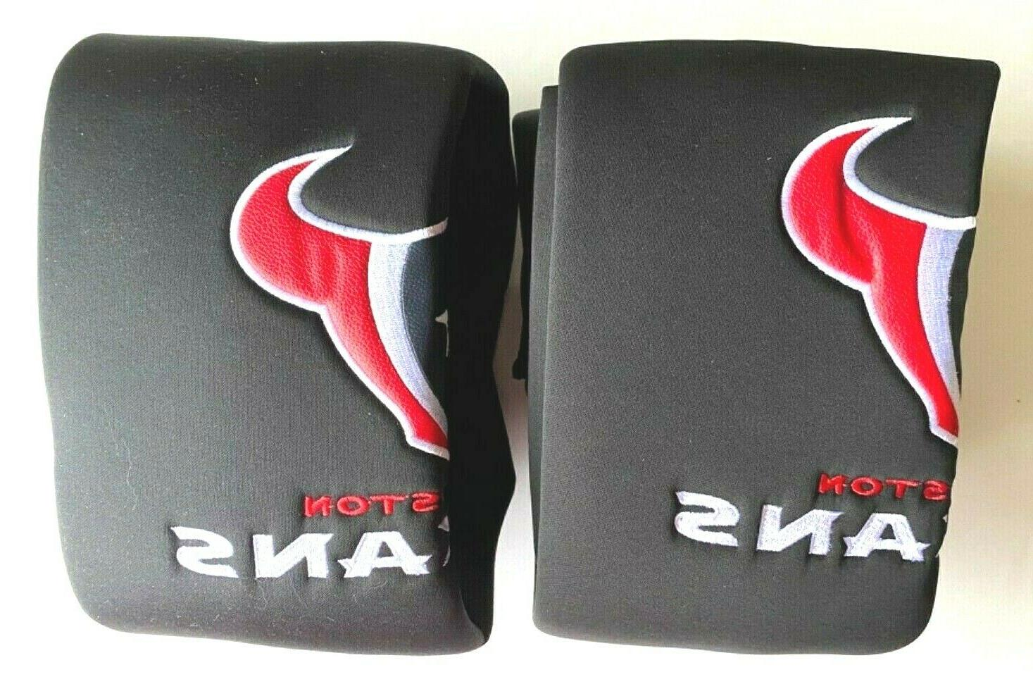 Houston Texans Car Truck 2 Front Seat Covers & Set NFL