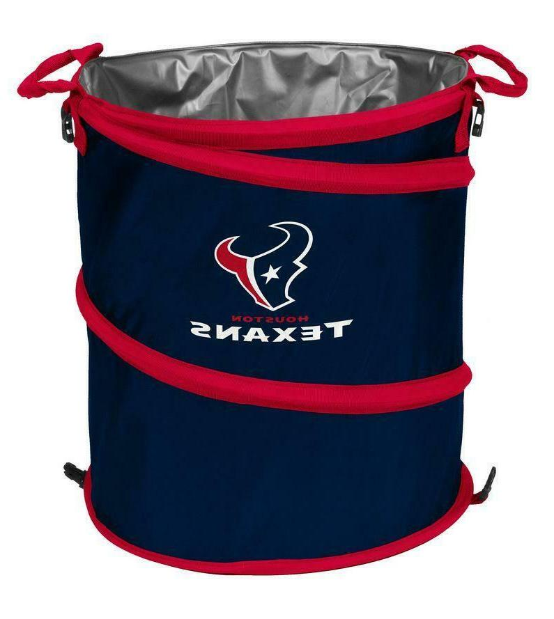 houston texans collapsible 3 in 1 cooler