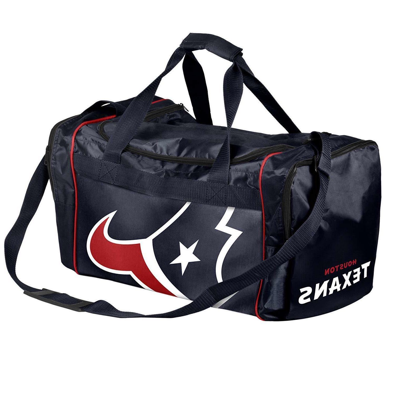 houston texans duffle bag gym swimming carry
