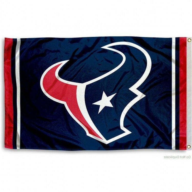houston texans flag 3 x5 nfl team