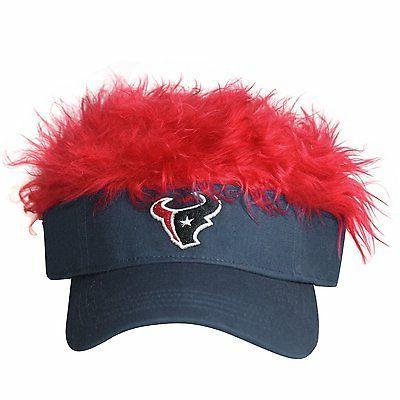 Concept One Houston Texans Flair Hair Visor