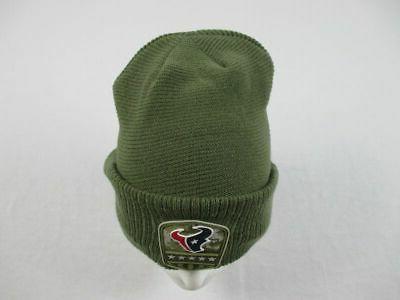 Houston Hat Men's Green Winter Hat NEW OSFM