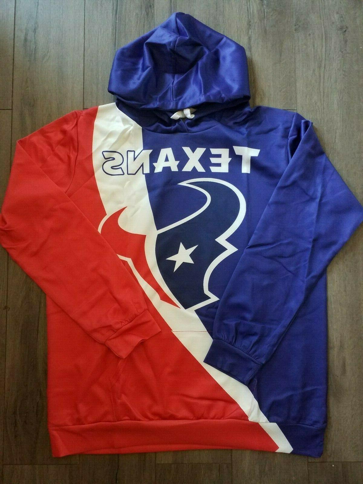 houston texans hoodie medium xxl 2xl unisex