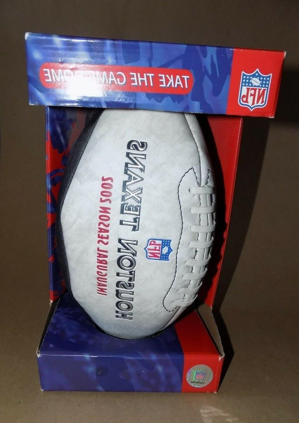 Houston Texans Commemortive Limited Edition Football - NFL