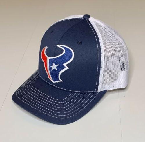 houston texans logo classic snapback trucker hat