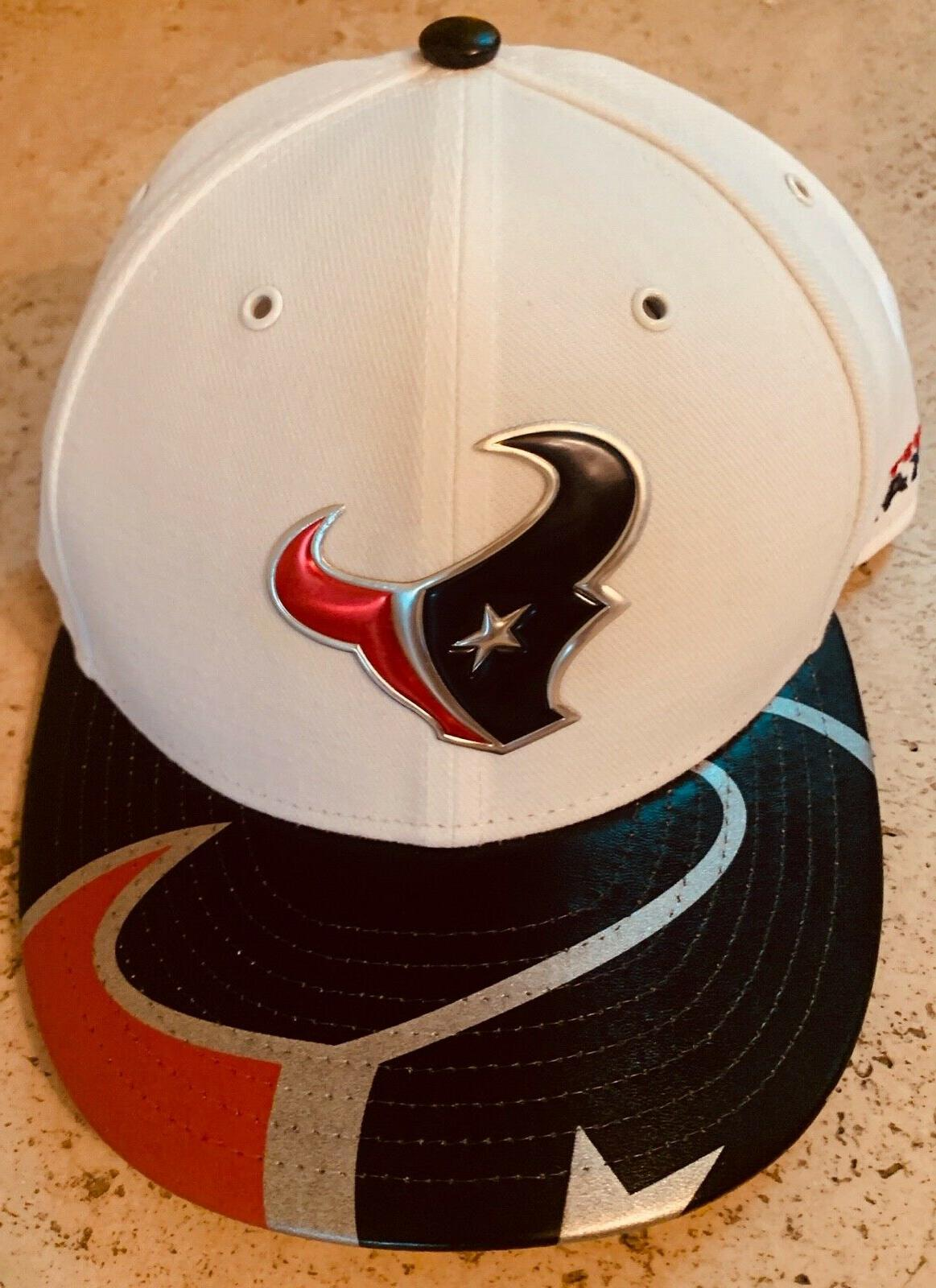 houston texans nfl football cap fitted size