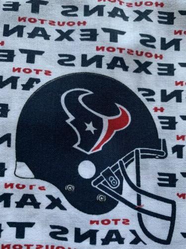 Houston Texans Football Cotton Fabric
