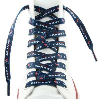 houston texans shoe laces 54 new nfl