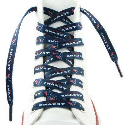 houston texans team logo laces