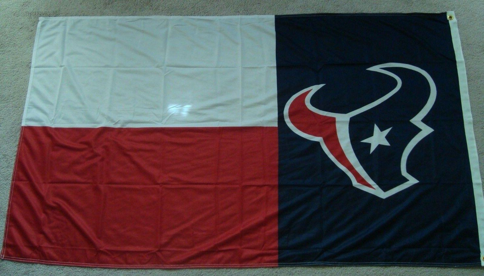 houston texans texas flag 3x5ft banner us